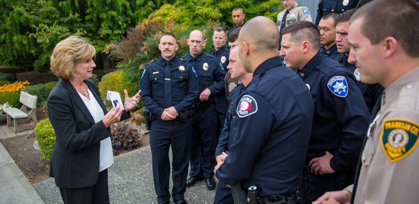 Thank you, Sue Rahr, for early leadership on police reform